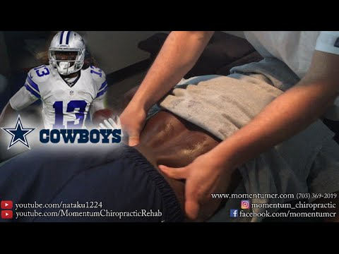 Massage - Sports Therapy on Dallas Cowboys Wide Receiver Lucky Whitehead