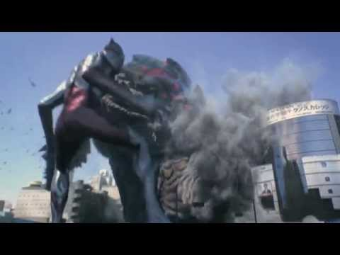 ULTRAMAN n/a fighting in Shibuya,Tokyo !! Kaiju Disaster movie