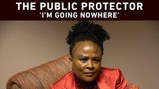 Public Protector Busisiwe Mkhwebane says she is going nowhere - and she says the damning court rulings against her are not enough grounds for Parliament to remove her. EWN's Clement Manyathela sat down with the Public Protector in an exclusive wide-ranging interview.