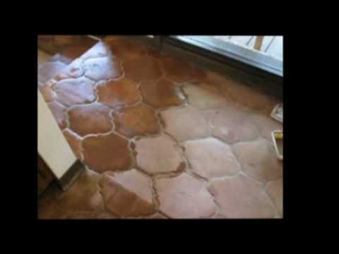 Cleaning Saltillo Tile Youtube
