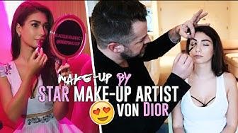 Tipps vom Profi - Dior's Star Make up Artist schminkt mich! Cob by Paola Maria