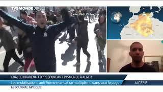 Manifestations anti-Bouteflika en Algérie