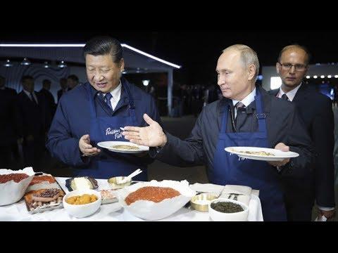 Russia-China Alignment Challenges U.S. Hegemony