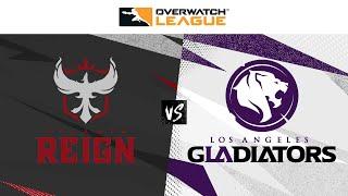 @ATL Reign vs @LA Gladiators | Countdown Cup Qualifiers | Week 1 Day 2 — West
