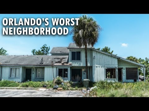 Orlando's Most Dangerous Neighborhood   CONFRONTED BY ANGRY RESIDENT   Abandoned Florida