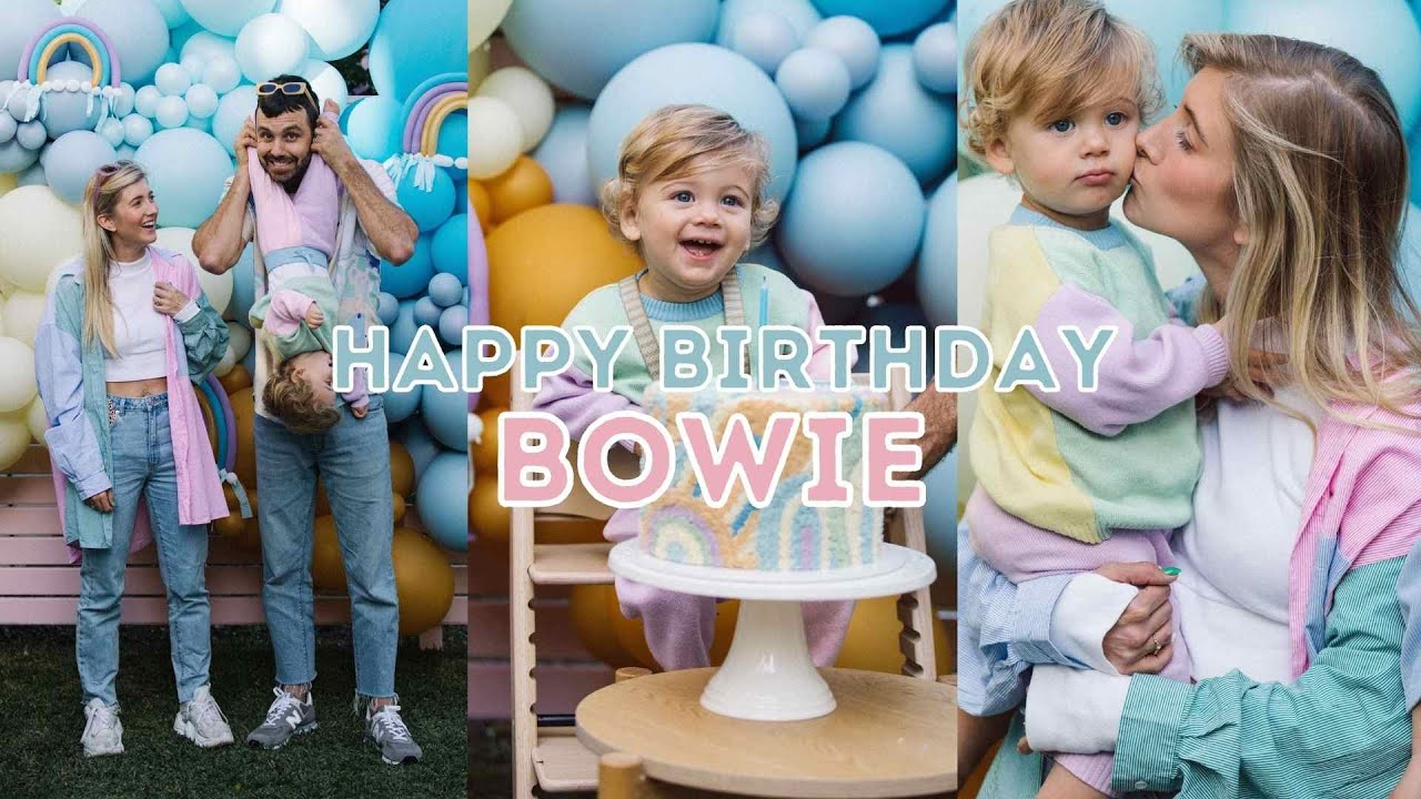 BOWIE TURNS ONE | party + birthday vlog