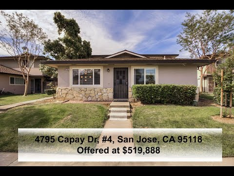 Cozy Condo In A Nice And Quiet Neighbourhood In San Jose! OPEN HOUSES 5/4 – 5/5 from 1pm to 4pm!