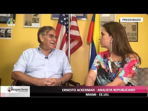 EE.UU. - Perspectivas con Gaby Perozo - Entrevista a Ernesto Ackerman, pdte de IVAC - VPItv