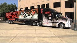 New OSU Football Equipment Truck Arrives