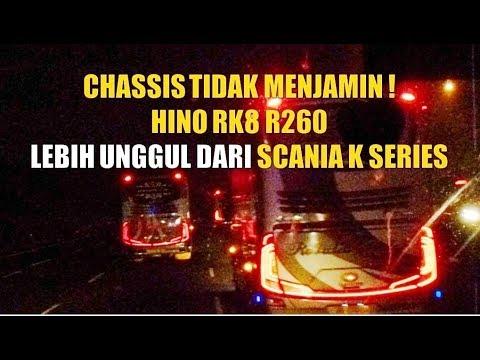 Chassis Tidak Menjamin ! Hino RK8 R260 Lebih Unggul Dari Scania K Series