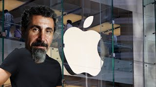 Serj Tankian goes to the Apple Store to fix his iPhone