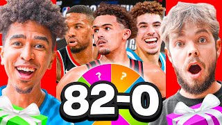 Who Can Make Tнe Best 82-0 Team With 2HYPE