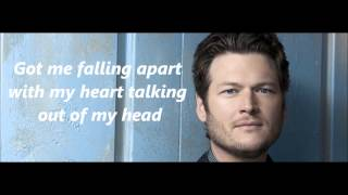 Blake Shelton Sure Be Cool If You Did with Lyrics