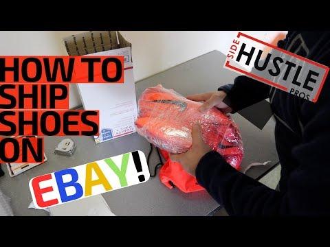 eBay For Beginners | How To Ship Shoes w/o Original Box! - 2 Easy Methods!
