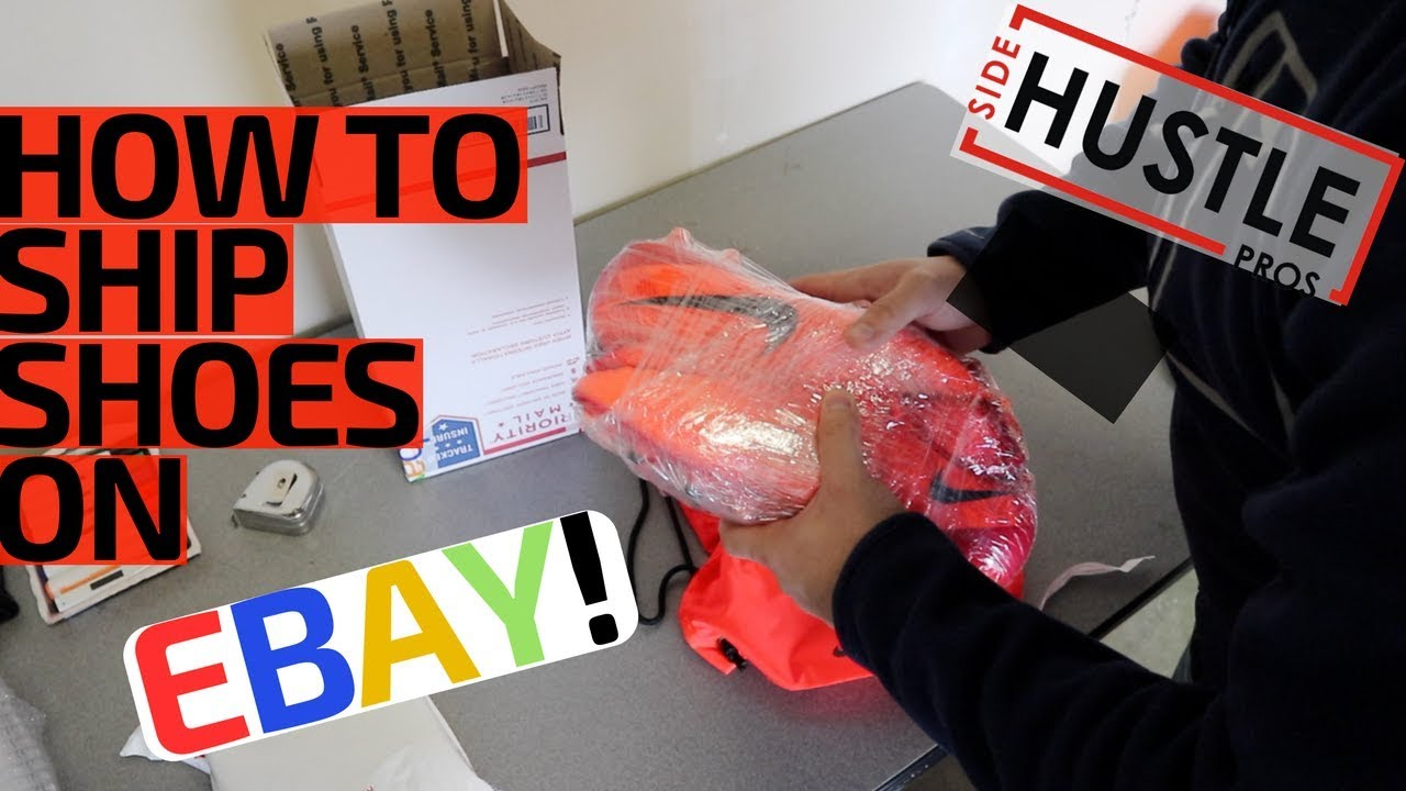 eBay For Beginners | How To Ship Shoes w/o Original Box! - 2 Easy Methods!