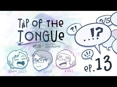 Tip of the Tongue - Critical Analysis + Video Essays (ft. Geoff Thew)