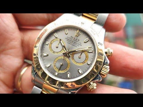 [Review Đồng Hồ] Rolex Daytona Chronograph 116523 Grey Dial | ICS Authentic