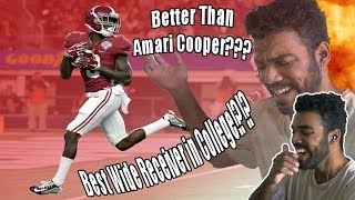 The Best Wide Receiver In College Football???- Calvin Ridley Highlights [Reaction]