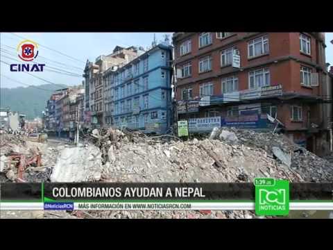 Ayuda Colombiana en Terremoto de Nepal _ CINAT