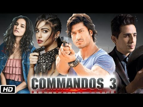 Image result for commando 3 cast