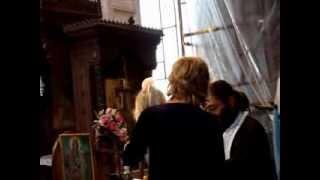 Bułgaria 09.2007 (3) - chrzest w Burgas