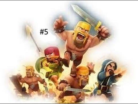 Clash of clans :Mon ami vient dans le clan #5
