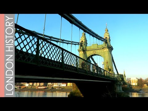 Why Is Hammersmith Bridge Green? | That London Life