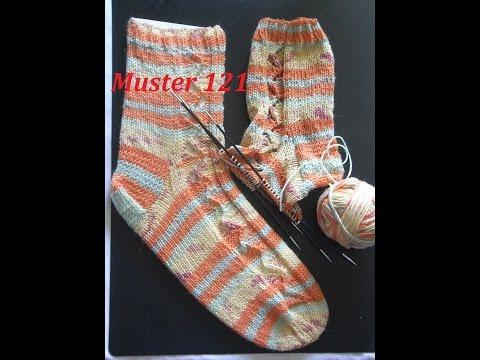 Sonnensocken mit ZickZack  Muster 121 für Socken -Handschuhe -Mütze* Stricken mit Nadelspiel