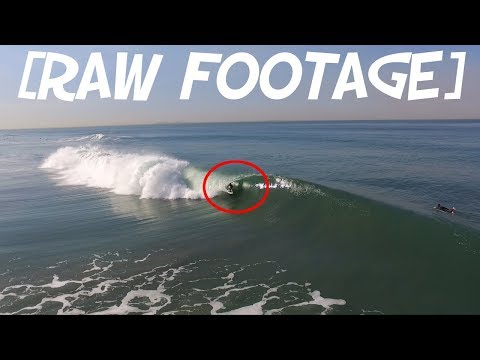 [raw footage] Surfing San Diego Barrels in Imperial Beach