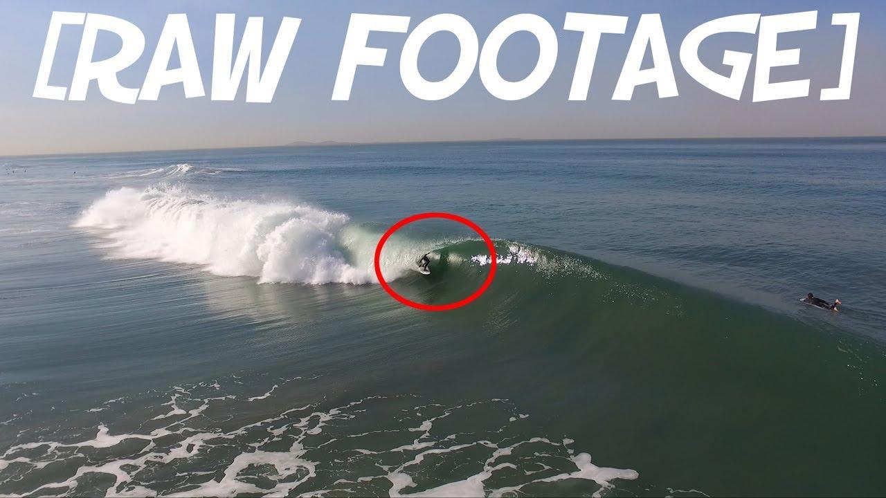 Raw Footage Surfing San Go Barrels In Imperial Beach You