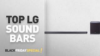 Cyber Monday LG Sound Bars: LG Electronics SJ9 5.1.2 Channel High Resolution Audio Sound Bar