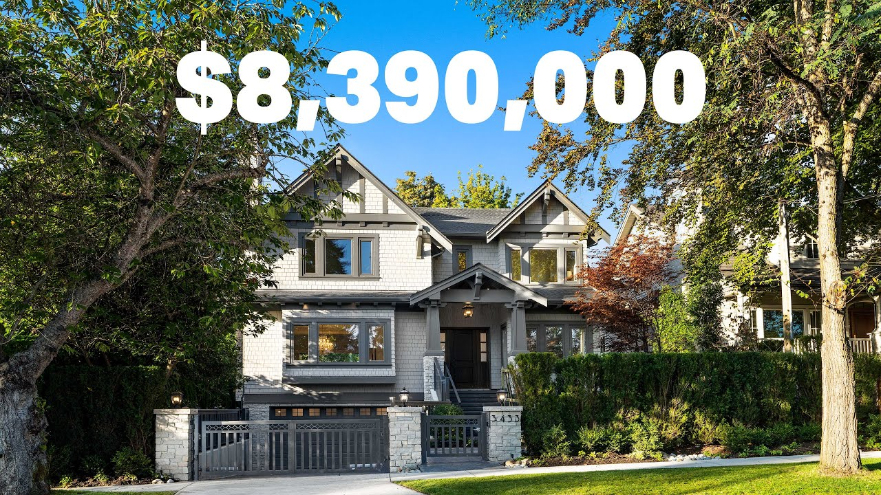 One of a kind $8.3+ million dollar luxury home | Dunbar, Vancouver West