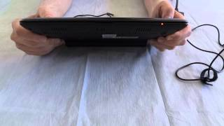 Charging a 3rd party battery in an Asus Eee PC netbook model 1005HA
