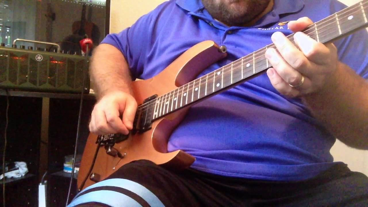 Ibanez V7 V8 and S1 pickup demo, RG470 MIJ in new Penny on