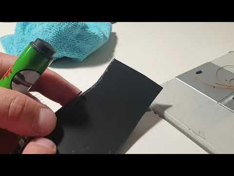 Как убрать ручку с кожи