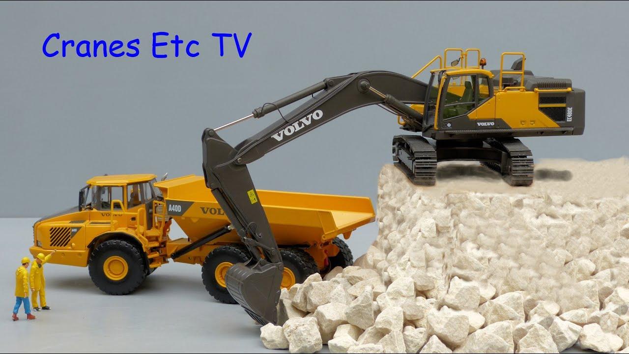 Motorart Volvo EC480E Crawler Excavator by Cranes Etc TV