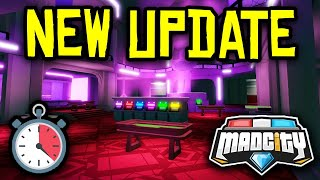 🔴 [LIVE] MAD CITY NEW UPDATE HYPE - New Casino Robbery & Realistic Graphics! | Roblox Mad City LIVE