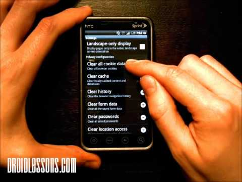 How to clear the internet browser history on your android phone how to clear the internet browser history on your android phone ccuart Choice Image