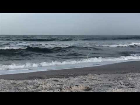 Sounds of the Ocean Waves Crashing Jacksonville Florida No Music Nature Sounds Sleep Relaxing Peace