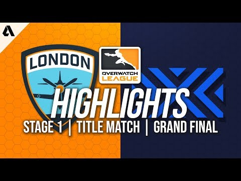 London Spitfire vs New York Excelsior | Overwatch League Highlights OWL Grand Final Stage 1