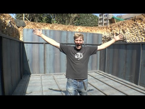 Apocalyptic BUNKER project part 3 - Making the Bunker