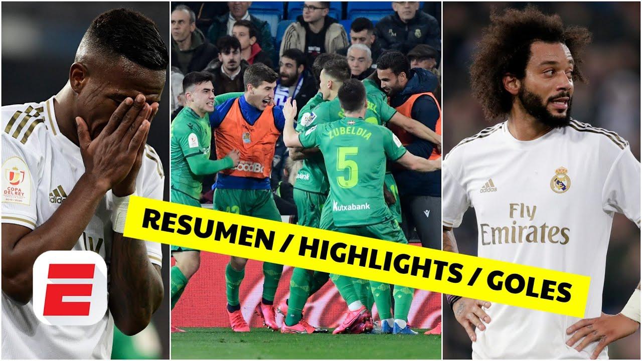 El resumen del Real Madrid vs. Real Sociedad, de la Copa del Rey ...