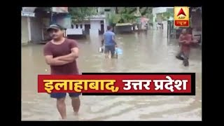 Allahabad: Rain causes havoc; roads, houses full of water