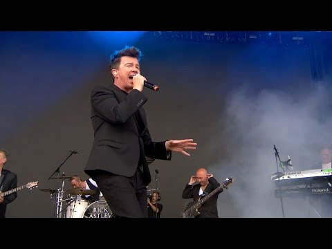 Thumbnail: Rick Astley - Never Gonna Give You Up (Live @ V Festival 2016 + Interview, HD)
