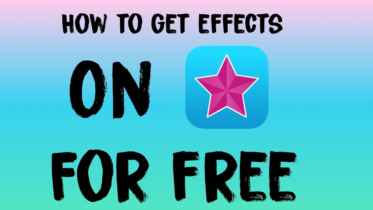 how to get video star effects for free