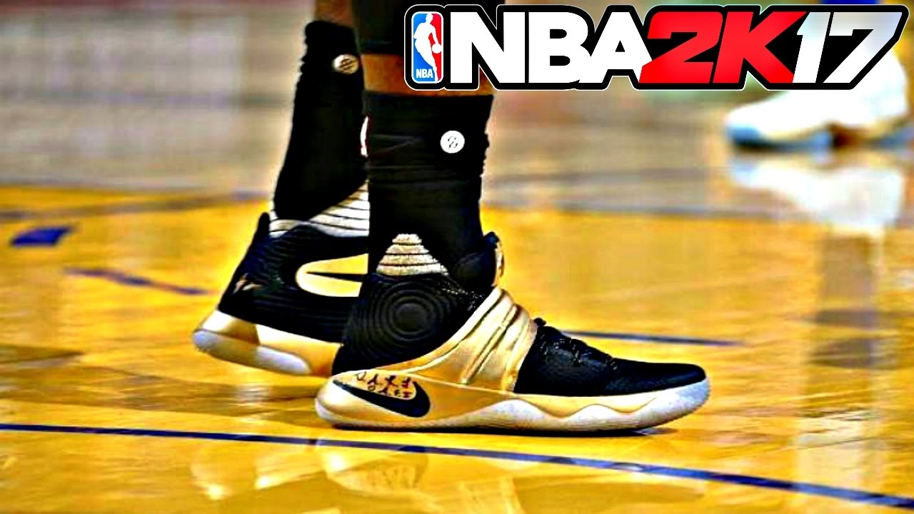 23b3442d349 NBA 2K17 Shoe Creator Nike Kyrie 2