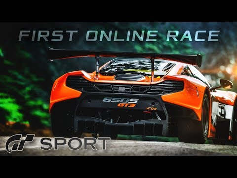 Gran Turismo Sport Gameplay: My First Online Races