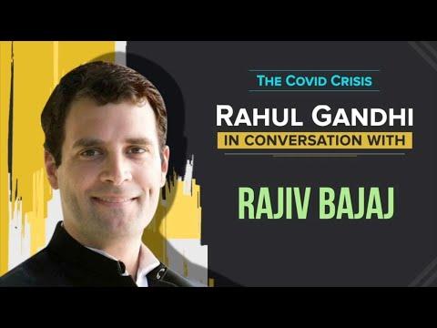 WATCH: Shri Rahul Gandhi in conversation with Shri Rajiv Bajaj on the COVID19 crisis