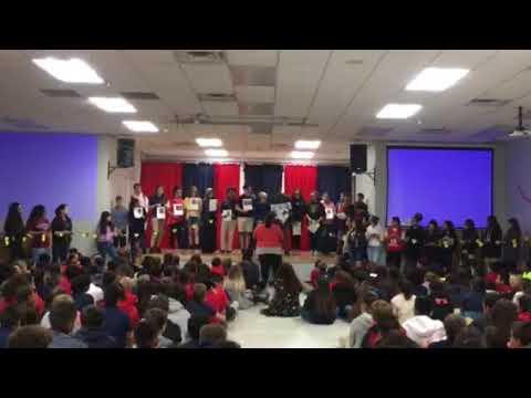 La Paloma Academy Central Students Honor Parkland Shooting Victims