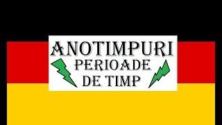 Invata Germana PERIOADE DE TIMP - ANOTIMPURI